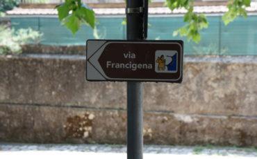 La via Francigena del Sud