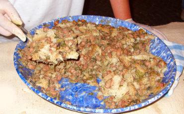 Minestra di pane (Menéstra do pano)