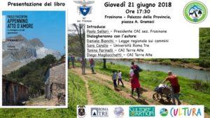 Presentazione libro Appennino Atto D'amore di Paolo Piacentini @ Palazzo della Provincia di Frosinone
