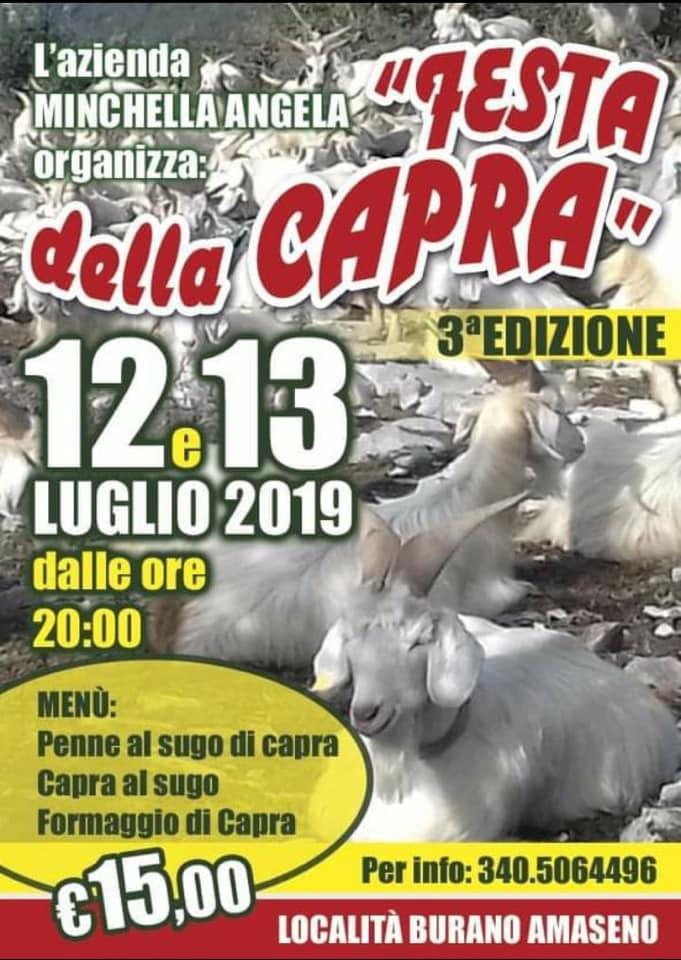 Festa della Capra @ Amaseno, Località Burano   Venezia   Veneto   Italia