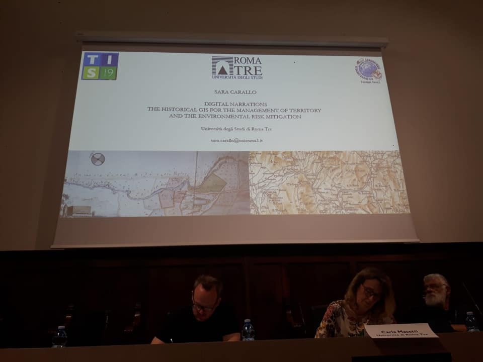 "Conferenza internazionale ""Time In Space 2019"""