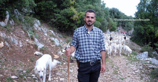 A piedi liberi con il pastore Luigi e le sue capre